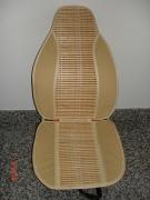 Подложка за авто седалка - светла + бамбук
